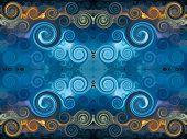 picture of tabriz  - background illustration - JPG