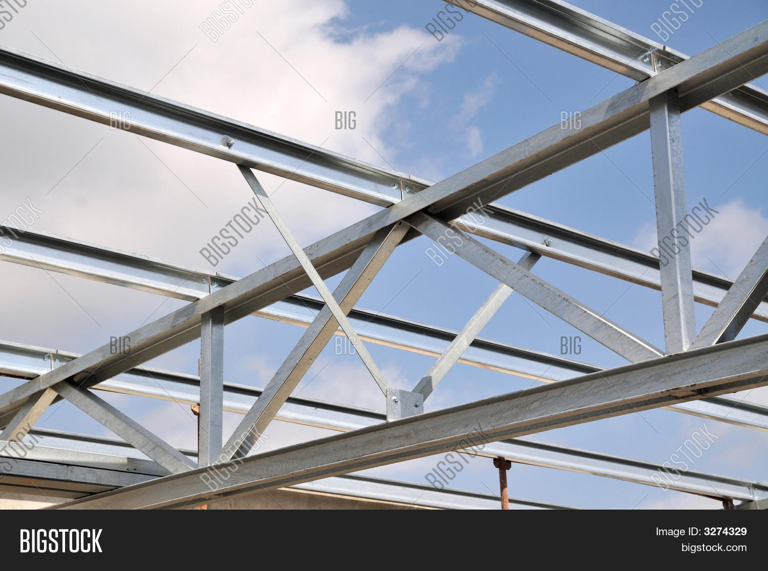 Steel truss stock photo stock images bigstock Truss cost