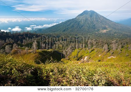 Gunung Merapi Volcano