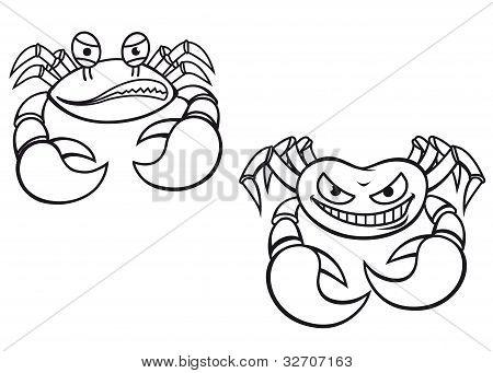 Cartoon Crabs
