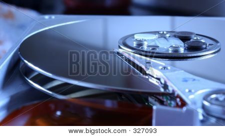 Blue Hard Disk