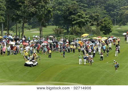 Crowd during Maybank Malaysian Open 2012