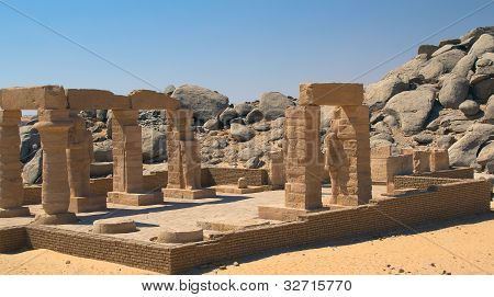 The Temple Of Gerf Hussein (near Aswan, Egypt)