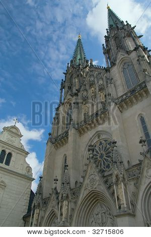 Saint Wenceslas Cathedral In Olomouc