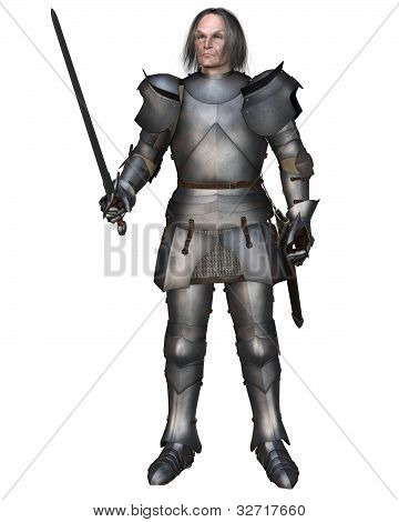Elderly Mediaeval Knight