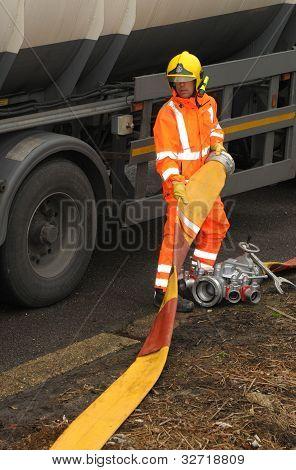 Hazardous task