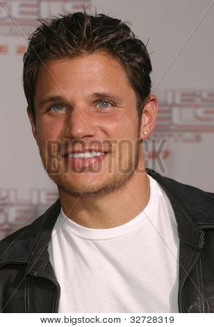 LOS ANGELES - JUN 18: Nick Lachey at the premiere of 'Charlie's Angels: Full Throttle' on June 18, 2003 in Los Angeles, California