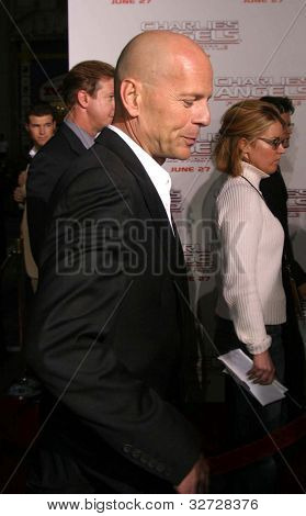LOS ANGELES - JUN 18: Bruce Willis at the premiere of 'Charlie's Angels: Full Throttle' on June 18, 2003 in Los Angeles, California