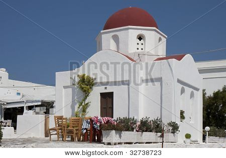 Orthodox Church Of Agia Moni