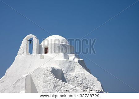 Panagia Paraportiani Church, Chora, Mikonos.