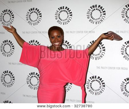 LOS ANGELES - APR 14:  Tangy Ambrose arrives at the celebration of the final season of USA Network's 'In Plain Sight' at The Paley Center For Media on April 14, 2012 in Beverly Hills, CA