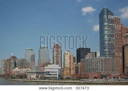 Lower Manhattan Site Of World Trade Center