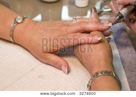 Manicurist Nail Technician