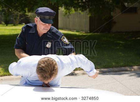 Policeman Arrests Driver