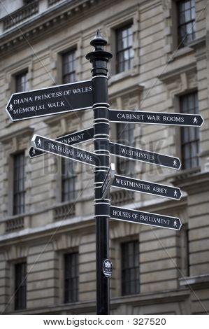 Metal Signpost