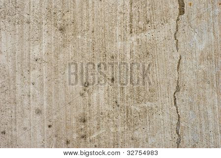 Plain Grunge Cracked Concrete Wall Background