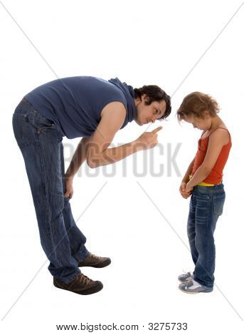 Father Teaches His Daughter