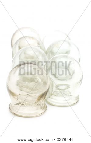 Cupping Glass Close Up
