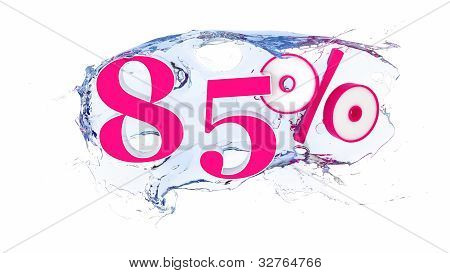 85 percent Summer Sale Or Discount Tags
