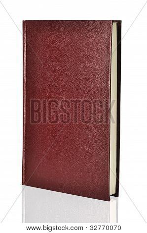 Libro tapa dura rojo