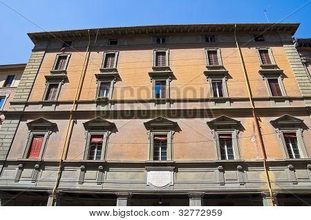 Marconi palace. Bologna. Emilia-Romagna. Italy.