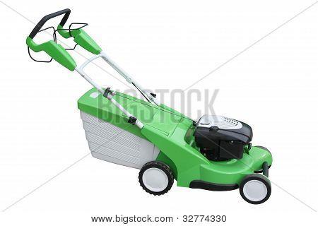 Máquina de siega verde