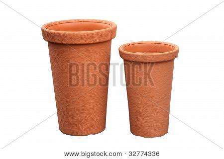 Pote de cerámica para las plantas