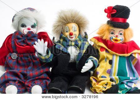 Clown Trio