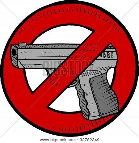 Esboço de controle de armas