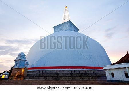 ruvanvalisaya dagoba stupa