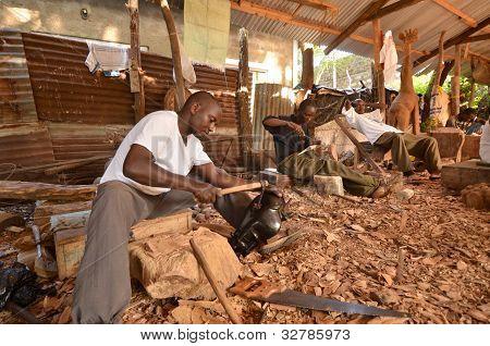 African artisan
