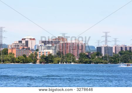 Burlington, Ontario, Canada Skyline.
