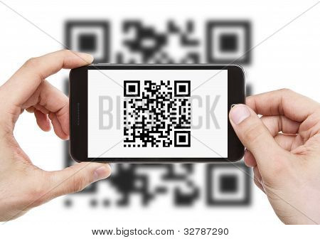 Scanning Qr Code With Smart Phone