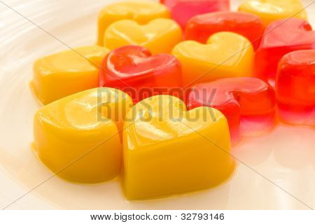 Heart Shaped Jelly