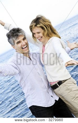 Carefree Mature Couple