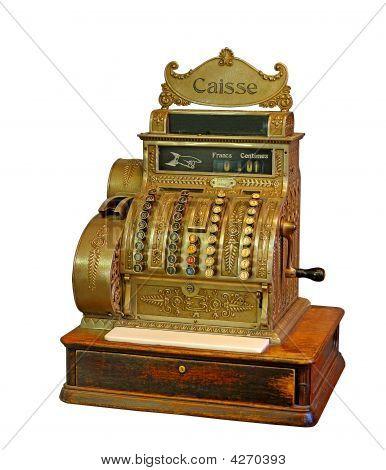 Old French Cash Register