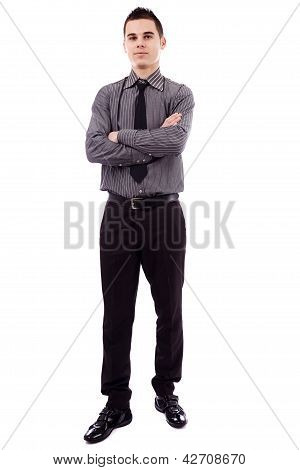 Businessman In Full Length Pose