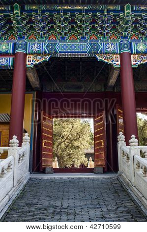 The Gate Of Confucian Temple