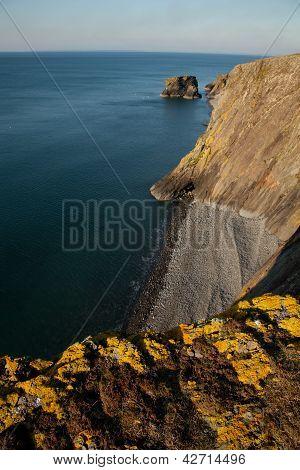 Wales Coast Path, Trefor.