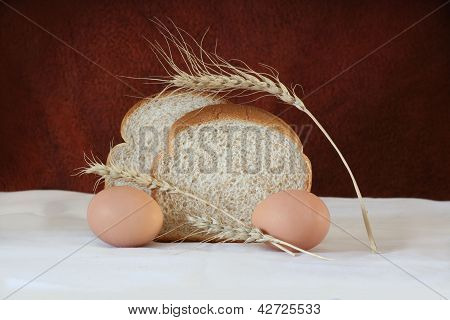 Brown Bread And Eggs