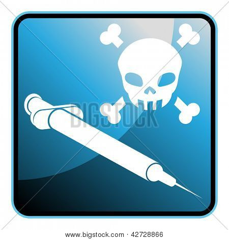 An image of a euthanization icon.