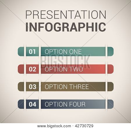 Modern soft color Design template / infographics