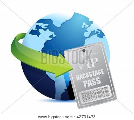 International Global Backstage Pass Vip