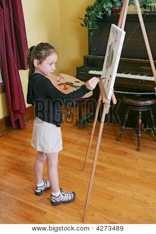 Young Sad Artist