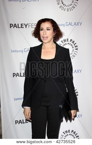 LOS ANGELES - 27 FEB: Roma Maffia kommt bei der PaleyFest Icon Award 2013 an die Paley Center For