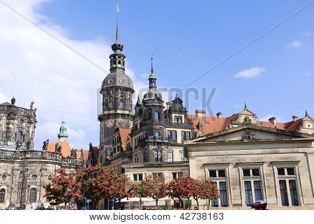 The Hofkirche Dresden