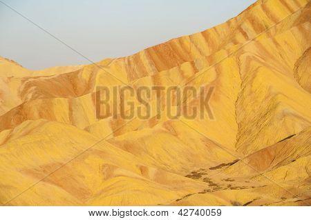 Colorful Danxia Landform In Zhangye, Gansu Of China