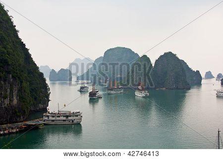 Halong bay in the morning,Vietnam