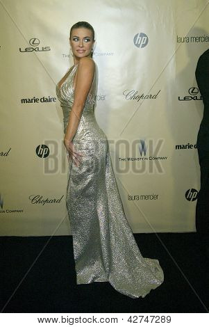 BEVERLY HILLS, CA - JAN. 13: Carmen Electra arrive at the Weinstein Company's 2013 Golden Globes After Party on Sunday, January 13, 2013 at the Beverly Hilton Hotel in Beverly Hills, CA.