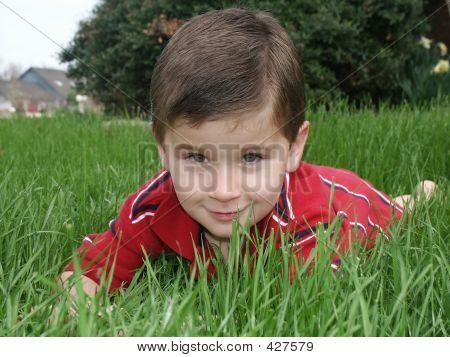 Boy Grass1